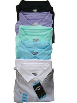 CALLAWAY Opti-Dri Mens Golf Performance Polo Shirt-NWT-5 Col