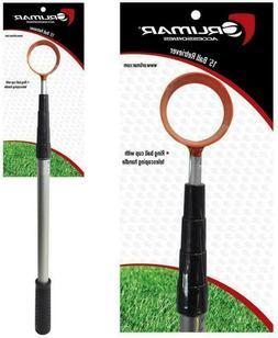 Orlimar 15-Foot Fluorescent Head Golf Ball Retriever
