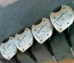 OVERSIZED Ping EYE Golf Clubs Woods RH set Driver 3 5 7 w Ne