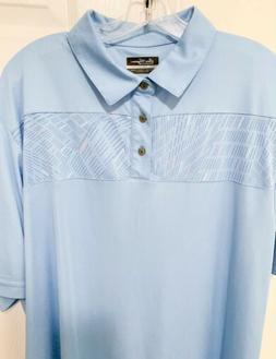 Ben Hogan Performance Blue Golf Polo Shirt Men's Size XL New