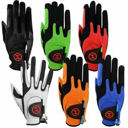 Zero Friction Performance Compression Fit Golf Glove. One Si