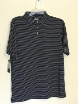 Ben Hogan Performance Golf Polo Shirts Black Striped Extra L