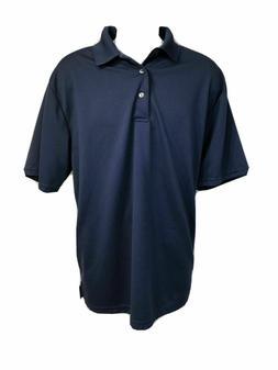 Ben Hogan Performance Men's Navy Blue Golf Polo Shirt Size