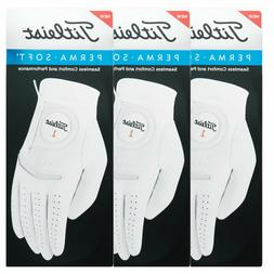 Titleist Perma-Soft Golf Gloves Right Hand Player 3 Pack