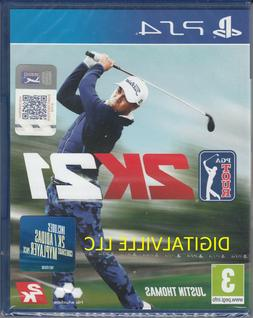 PGA Tour 2K21 PS4 Brand New Factory Sealed PlayStation 4 Gol
