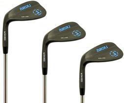 LAZRUS Premium FORGED Golf Wedges Set For Men - 52 56 60 Deg