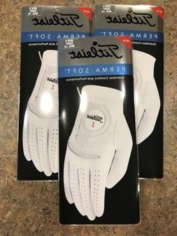 Qty 3 Titleist golf gloves Men's Regular  Right Medium / L