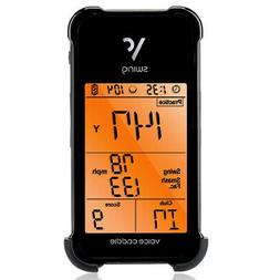 Voice Caddie SC 100 Portable Golf Launch Monitor, Black