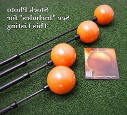 Orange Whip Swing Trainer Golf Practice Aid Choose Full MidS