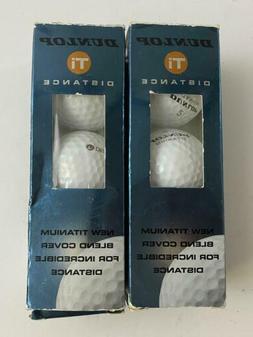 Dunlop TI Distance 2 Golf Ball Sleeve Titanium Blend Cover U