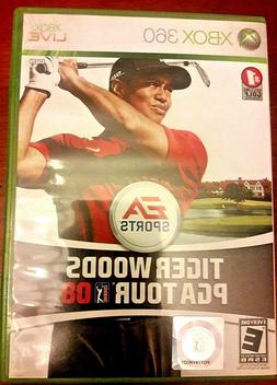 Tiger Woods PGA Tour 08 Xbox Live 360 Golf Video Game Rated