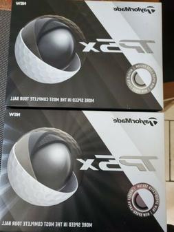 TaylorMade TP5x Golf Balls 2 Dozen New in Box