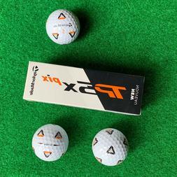 TAYLORMADE TP5x Pix Golf Balls - ClearPath Alignment - NEW S