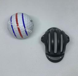 Triple  Line Alignment Track Golf Ball Marker Stencil - STEN