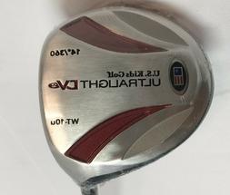 U.S. Kids Golf Club Ultra Light DV2 14* Driver Graphite Shaf