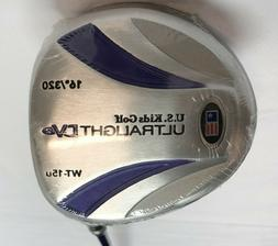 U.S. Kids Golf Club Ultra Light DV2 16* Driver Graphite Shaf