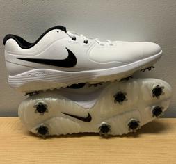 Nike Vapor Pro Lunarlon Golf Shoes Cleat Men Size 13 White B