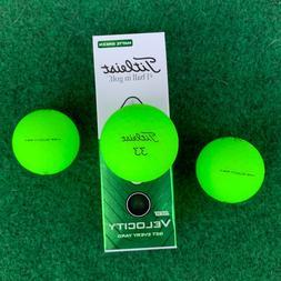 TITLEIST Velocity Golf Balls - Matte Green - NEW Sleeve  - 2
