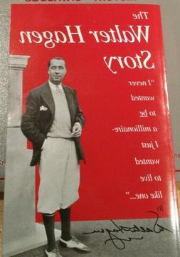 Vintage Golf Books - The Walter Hagen Story