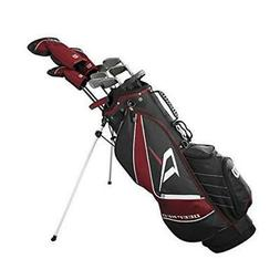 Wilson Deep Red Tour Complete Golf Set Men's, Right Hand, Ta