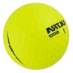 Wilson Ultra 500 Hi-Visibility Yellow Golf Balls  NEW
