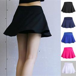 Women's Active Skort Tennis Skirt for Running Golf Workout C