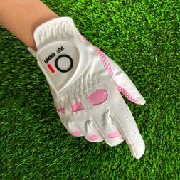 Women's Anti-slip Design Golf Gloves Left and Right Hand Bre