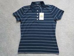 Women's Nike Golf Dri-Fit Short Sleeve Shirt Blue Size S 100