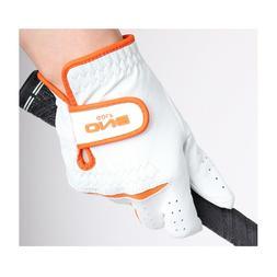 Women's Golf Gloves Premium Cabretta Leather Both Hands  Whi