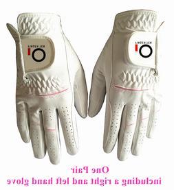 Women Golf Gloves Pair Both Hand Rain Grip Hot Wet Grip Smal