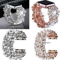 Wristwatch Band For Apple Watch Band Crystal Jewelry Bracele