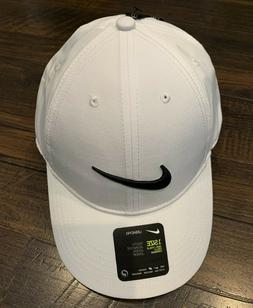 Youth Unisex Nike Golf Hat Adjustable Cap White/Black Boys/G
